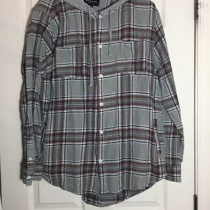Other - Sz. Lg. PAC Sun flannel hoodie